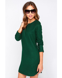 Piké Pike Green Long Sleeve Sweater Dress | Where to buy & how to wear