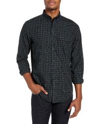 Nordstrom Men's Shop Smartcare Regular Fit Tartan Sport Shirt