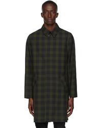 A.P.C. Khaki New England Mac Coat