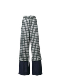 Marni Trousers In Lightweight Micro Tweed
