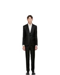 Dark Green Check Wool Suit