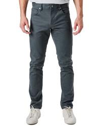 7 Diamonds Clifton Slim Brushed Twill Slim Straight Leg Five Pocket Pants