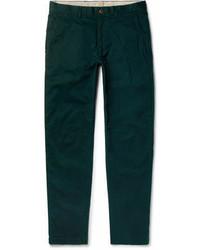 Connor slim fit stretch cotton twill chinos medium 6985934