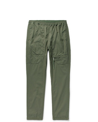 Nonnative Educator Slim Fit Tapered Coolmax Cotton Blend Ripstop Trousers