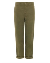 Golden goose deluxe brand high rise chino trousers medium 127512