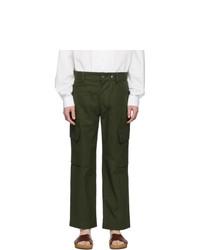 Jacquemus Green Le Pantalon Cueillette Trousers