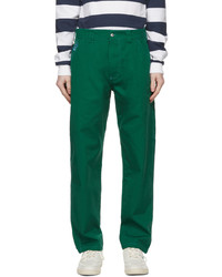 Billionaire Boys Club Green Painter Trousers