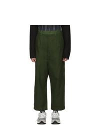 Comme des Garcons Homme Khaki Chino Trousers