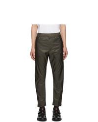 Prada Khaki Nylon Trousers