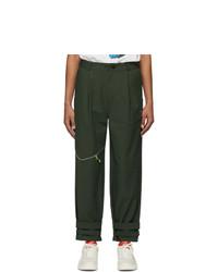 Ader Error Khaki T 914 Track Trousers