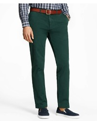 Brooks Brothers Slim Fit Gart Dyed Stretch Chinos