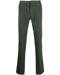 Canali Solid Colour Slim Fit Chinos