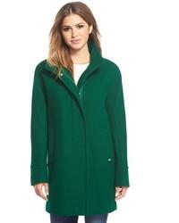 Ellen Tracy Petite Wool Blend Stadium Coat