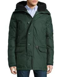 Spiewak Tech N3 B Snorkel Hooded Coat Green