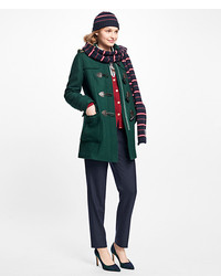 Brooks Brothers Wool Double Faced Toggle Coat