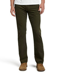 AG Adriano Goldschmied Protege Sulfur Olive Corduroy Pants