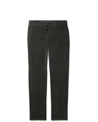Canali Cotton Blend Corduroy Trousers