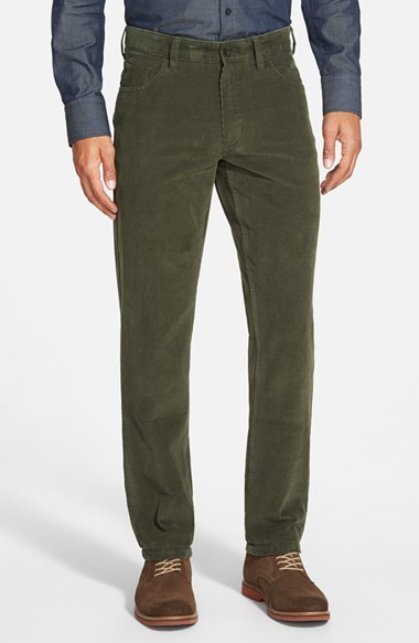 Nordstrom Shop Straight Leg Corduroy Pants | Where to buy & how to ...