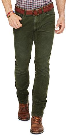 Polo Ralph Lauren Varick Slim Straight Corduroy Pants | Where to ...