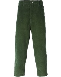 Socit anonyme cropped corduroy trousers medium 332469