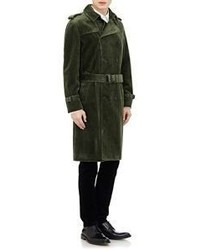 latest selection of 2019 release date: huge sale Barneys New York Burberry Xo Corduroy Double Breasted Trench ...