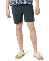 Topman Slim Fit Pleated Shorts
