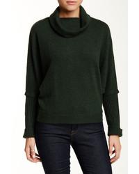 Dark Green Cowl-neck Sweaters for Women | Women's Fashion