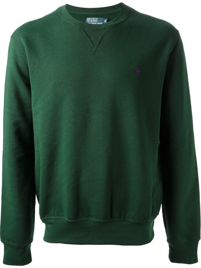 01afa66a385c Ralph Lauren Blue Crew Neck Sweater   Where to buy   how to wear