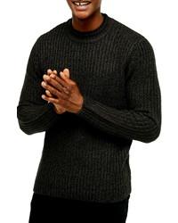 Men's Dark Green Sweaters by Topman | Lookastic