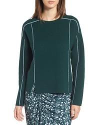 Lewit double knit cashmere blend pullover medium 6697990