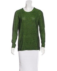 Tibi Mlange Long Sleeve Sweater