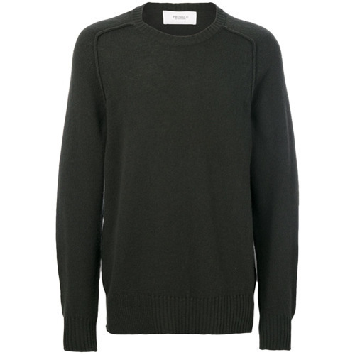 Pringle Of Scotland Saddle Round Neck Jumper