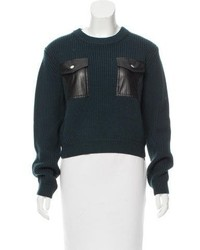 Carven Wool Knit Sweater W Tags