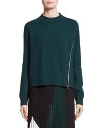 Wool silk cashmere pullover medium 6697991