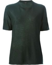 Dark green crew neck t shirt original 4817292