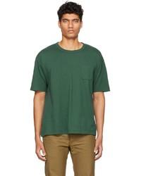 VISVIM Green Jumbo T Shirt