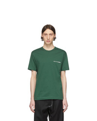 Comme Des Garcons SHIRT Green Logo T Shirt