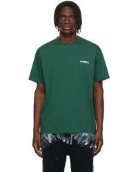 Vetements Green Logo T Shirt