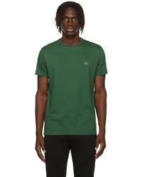 Lacoste Green Pima Cotton T Shirt