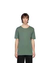 Lemaire Green Rib Knit T Shirt