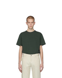 Bottega Veneta Green Stitch T Shirt