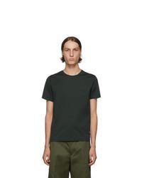 Prada Green Stretch Logo T Shirt