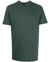 Giorgio Armani Logo Print Cotton T Shirt