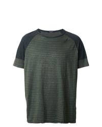 Roberto Collina Overdyed Military T Shirt