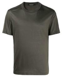 Ermenegildo Zegna Plain Wool T Shirt