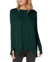 Michael Stars Ribbed Tunic Top
