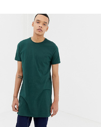 ASOS DESIGN Tline T Shirt With Crew Neck In Khaki