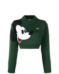 Gcds Mickey Mouse Knit Jumper