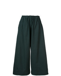 Dark Green Culottes