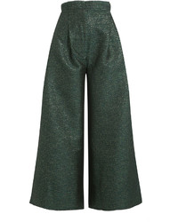 Cropped wide leg pants medium 960658